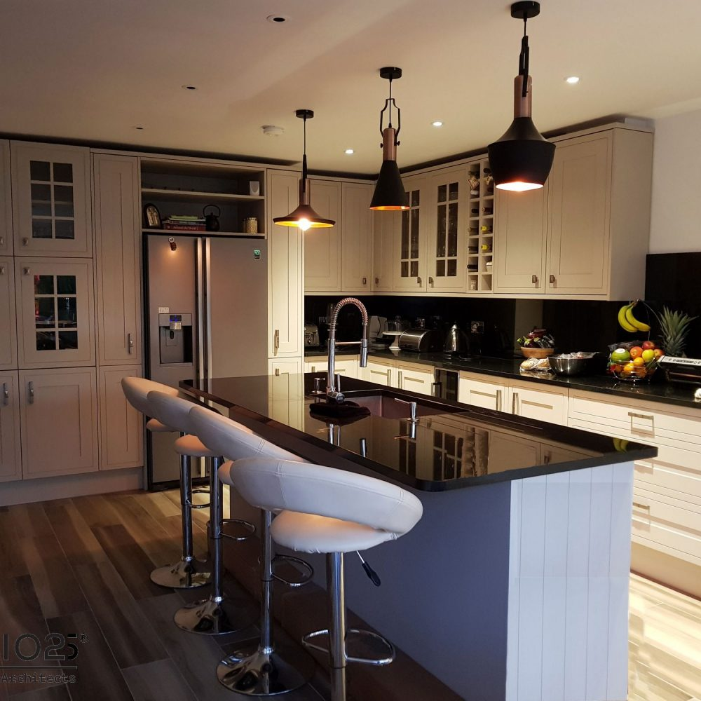 Internal refurbishment of kitchen