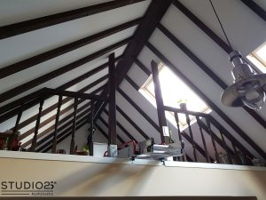 Loft space after refurbishment
