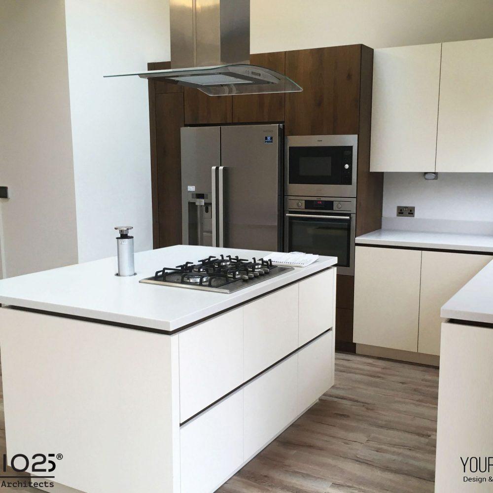 Internal refurbishment of kitchen